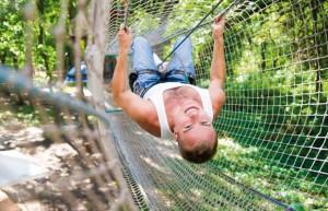 La Forêt d'acrobates, entre sensations fortes et loisir